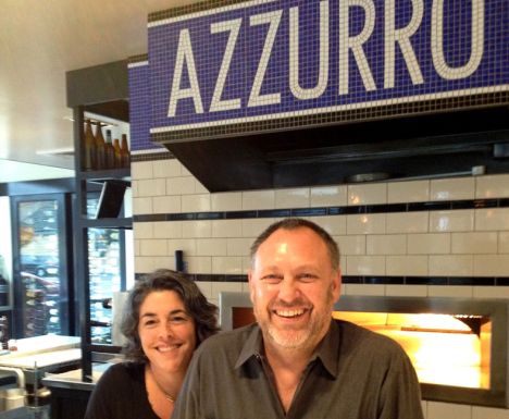 Michael & Christina Gyetvan talk about their restaurants,  Azzurro, Norman Rose and the new Atlas Social