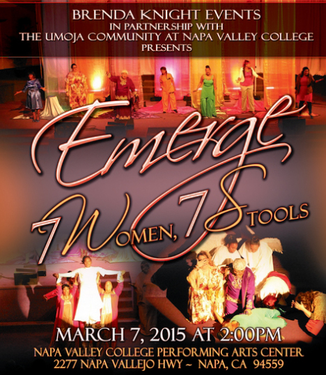 "Brenda Knight presents ""Emerge – 7 Women, 7 Stools @ Napa Valley College"