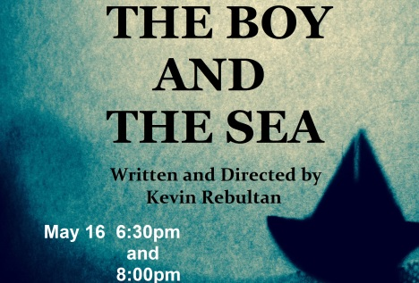"""Napa Valley College Now"" The Boy and The Sea from Theater Students  United – This Saturday for One Night Only"