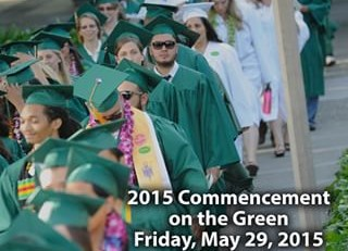 NAPA VALLEY COLLEGE GRADUATION ON THE GREEN 2015