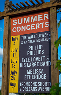 The 2015 Robert Mondavi Winery Summer Concert Series is just a week away.  Listen to find out about final preparations and tickets