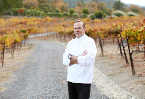Charlie Palmer makes landfall in the Napa Valley