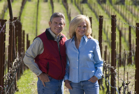 Kathryn & Craig Hall – The perfect blend of wine  and community