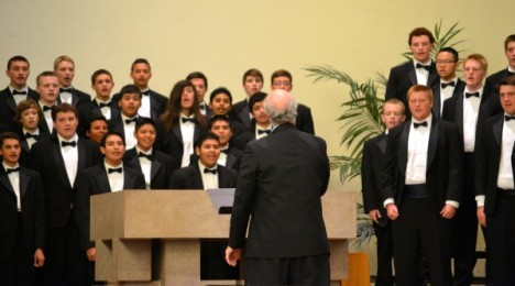 Karin Argoud's reports on Travis Rogers and the Napa High Choir Program