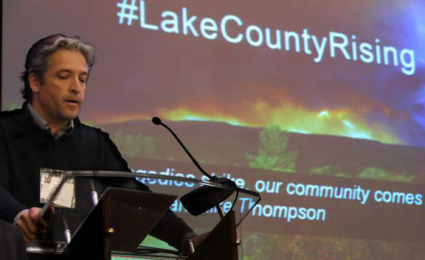 Karin Argoud reports on Lake County's recovery