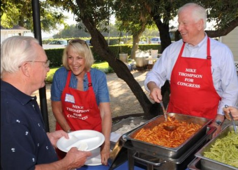 The Annual Mike Thompson for Congress Pasta Feed