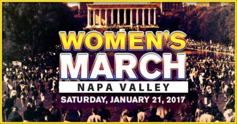 Napa Women's March  1/21/17