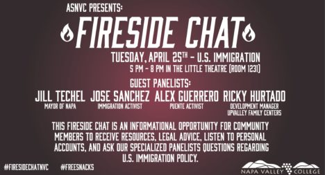 Associated Students of Napa Valley College – Fireside Chat on Immigration