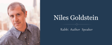 A conversation with Congregation Beth Shalom's new leader, Rabbi Niles Goldstein