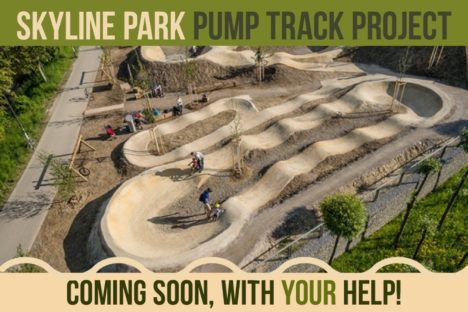 Skyline Park Pump Track Project + A  BMX Fundraiser:  A conversation with Ryan Gregory and Donny Robinson